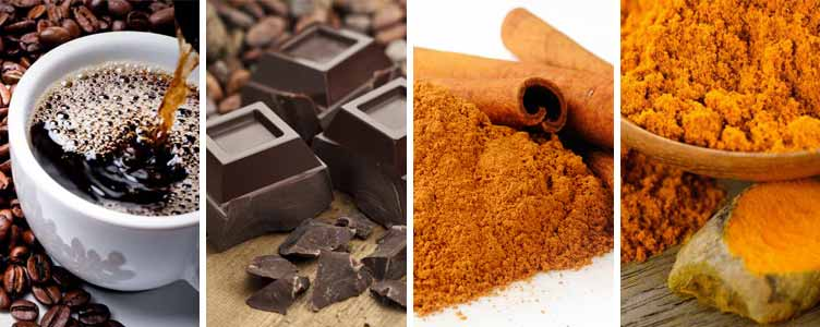 alzheimer's diet coffee chocolate spices