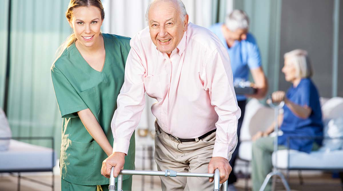differences between nursing homes assisted living