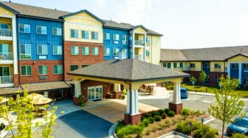 the enclave senior living at saxony fishers in