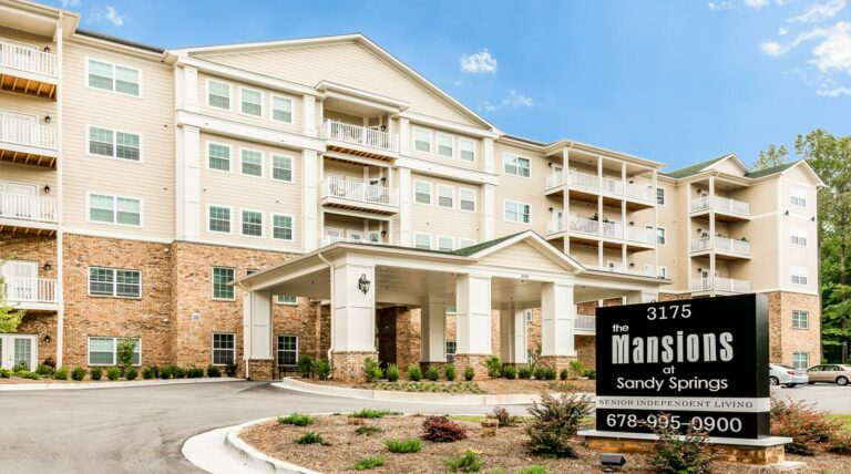 the mansions at sandy springs independent living peachtree corners ga