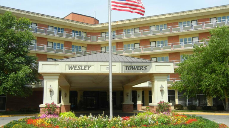 wesley towers and manor retirement community hutchinson ks